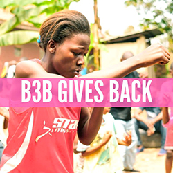 B3B Gives Back – Round 13